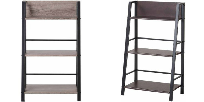 Walmart – Mainstays 3-Shelf Bookcase, Multiple Finishes Only $27.00 (Reg $39.00) + Free Store Pickup