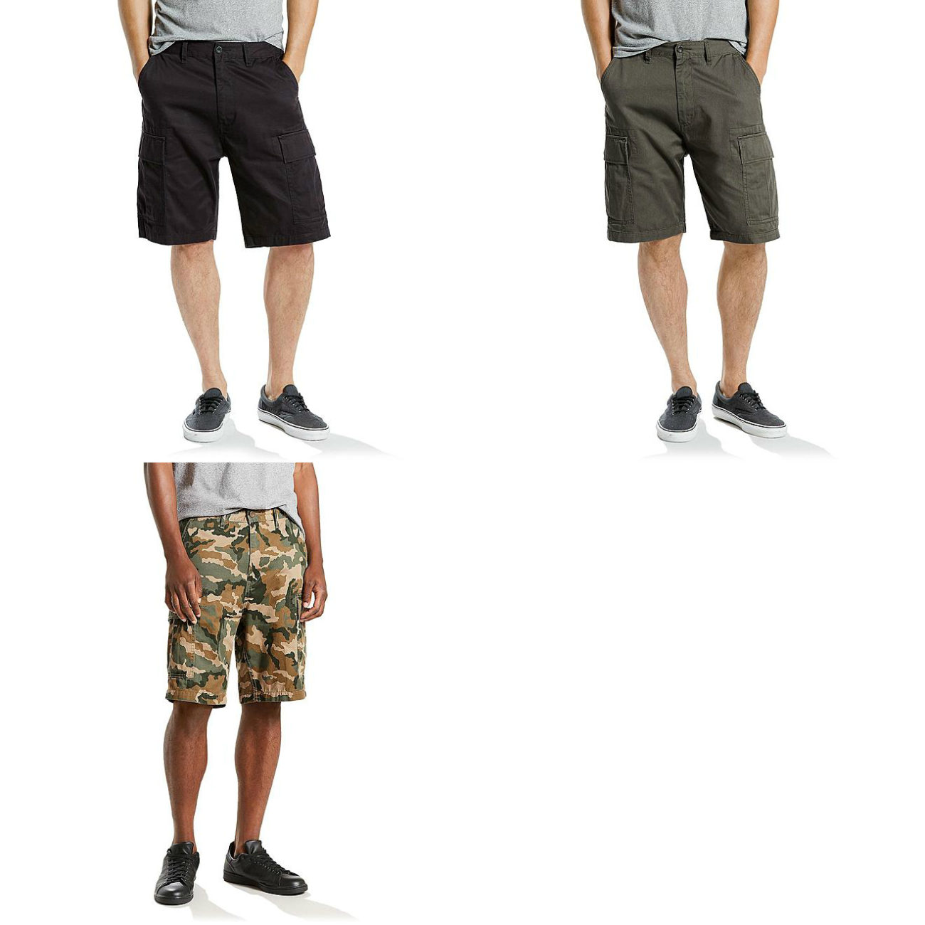Sears – Levi's Men's Carrier Cargo Shorts Only $24.99 Through 09/02/17 (Reg $50.00) + Free Store Pickup