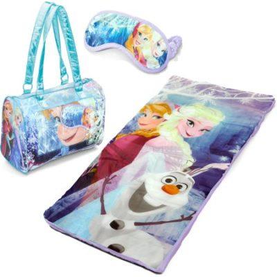 Walmart – Disney Frozen Sleepover Slumber Nap Mat with Purse and Bonus Eye Mask Only $10.00 (Reg $35.00) + Free Store Pickup