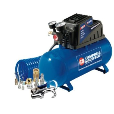 Walmart – Campbell Hausfeld FP209499AV 3 Gallon Inflation and Fastening Compressor with Accessory Kit Only $61.98 (Reg $70.00) + Free 2-Day Shipping