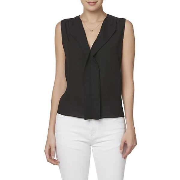 Sears – Simply Styled Petite's Sleeveless Blouse Only $9.99 (Reg $32.00) + Free Store Pickup