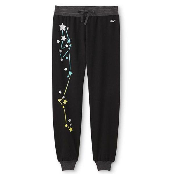 Sears – Everlast® Girls' Jogger Pants – Stars Only $12.00 (Reg $24.00) + Free Store Pickup