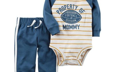 Sears – Carter's Infant Boys' Bodysuit & Pants – Property of Mommy Only $10.00 (Reg $20.00) + Free Store Pickup