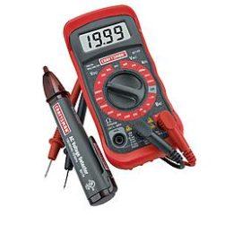 Kmart – Craftsman Digital Multimeter with AC Voltage Detector Only $22.23 (Reg $49.99) + Free Store Pickup