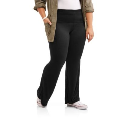 Walmart – Eye Candy Juniors' Plus Knit Flared Pants With Foldover Waistband Only $6.50 (Reg $11.98) + Free Store Pickup