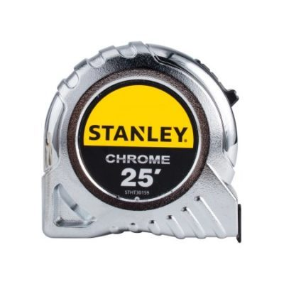Walmart – STANLEY® STHT30159 25″ Chrome Tape Measure Only $5.94 (Reg $9.44) + Free Store Pickup