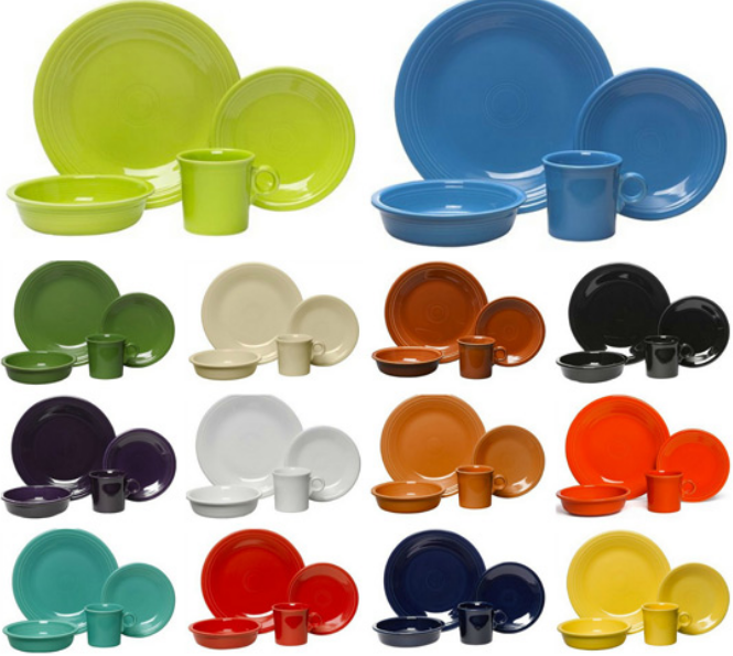 Kohl's Cardholders – Fiesta Dinnerware Sets Only $17.49 Each Shipped (Regularly $56)