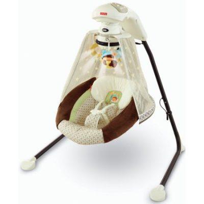 Walmart – Fisher-Price – Starlight Papasan Cradle Swing, Nite Nite Monkey Only $109.00 (Reg $159.97) + Free 2-Day Shipping