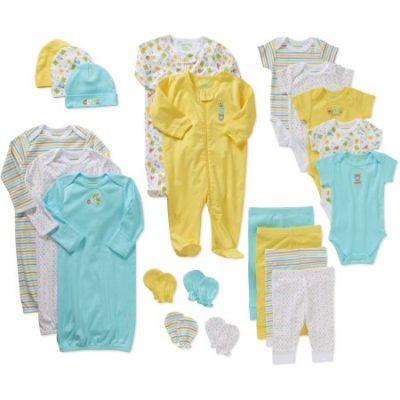 Walmart – Garanimals Newborn Baby Boy or Baby Girl Unisex Baby Boy or Baby Girl 21 Pc Layette Gift Set Only $26.00 (Reg $39.50) + Free Store Pickup