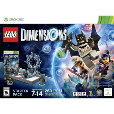 Walmart – LEGO Dimensions Starter Pack (Xbox 360) Only $42.99 (Reg $99.96) + Free 2-Day Shipping