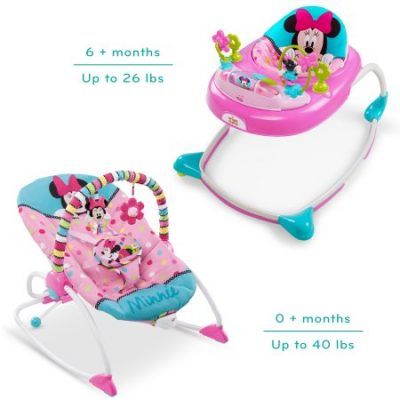 Walmart – Disney Minnie Walker And Rocker Bundle Only $60.00 (Reg $87.75) + Free 2-Day Shipping