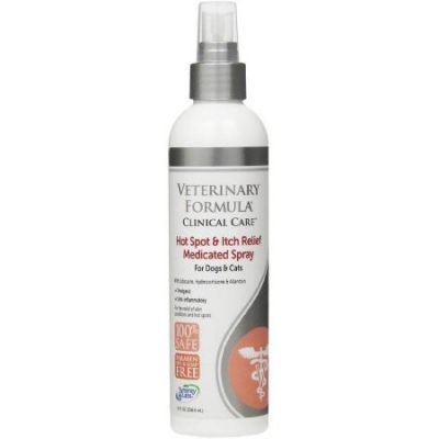 Walmart – Veterinary Formula Clinical Care Hot Spot and Itch Relief Medicated Spray Dogs and Cats, 8 fl oz Only $8.96 (Reg $10.23) + Free Store Pickup