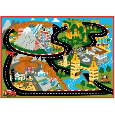Walmart – Disney Cars Mount Fuji Game Rug, 44″ x 31.5″ Only $15.63 (Reg $19.99) + Free Store Pickup