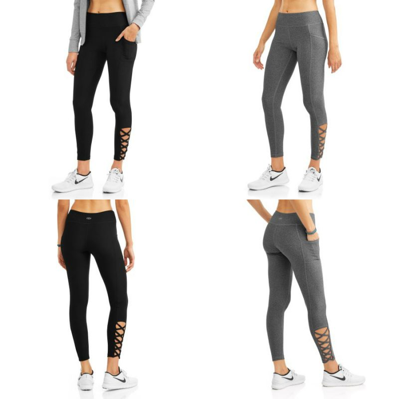 Walmart – N.Y.L. Sport Women's Active Lattice Ankle Performance Legging with Media Pocket Only $13.50 (Reg $14.96) + Free Store Pickup