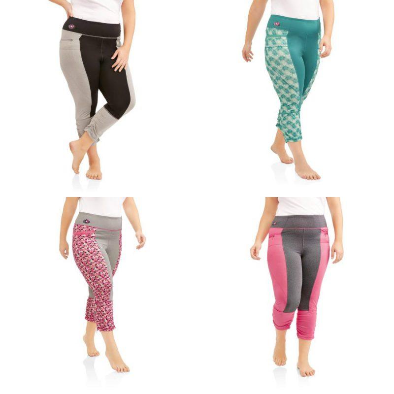 Walmart – Be Empowered Naturally Women's Plus Yoga Capri Only $10.00 (Reg $15.98) + Free Store Pickup