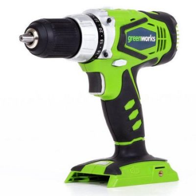 Walmart – Greenworks 24V Cordless Speed Compact Drill, Battery Not Included, 37012A Only $39.00 (Reg $69.99) + Free Shipping