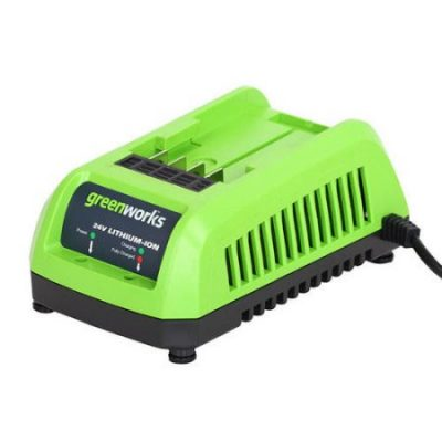 Walmart – Greenworks 24V Lithium Ion Battery Charger 29862 Only $24.00 (Reg $26.36) + Free Store Pickup