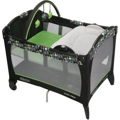 Walmart – Graco Pack 'n Play Playard with Newborn Napper, Miami Only $79.47 (Reg $99.98) + Free Shipping