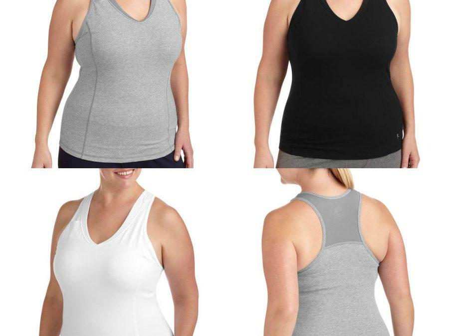 Walmart – Danskin Now Women's Plus Size Dri-More Core Racerback Shelf-Bra Tank Only $8.96 (Reg $12.96) + Free Store Pickup