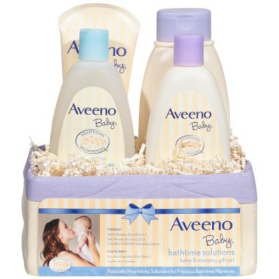 Walmart – Aveeno Baby Daily Bath Time Solutions Gift Set To Prevent Dry Skin Only $15.99 (Reg $17.93) + Free Store Pickup