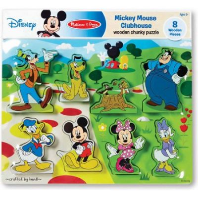 Walmart – Disney Mickey Mouse Clubhouse Wooden Chunky Puzzle Only $7.97 (Reg $34.25) + Free Store Pickup