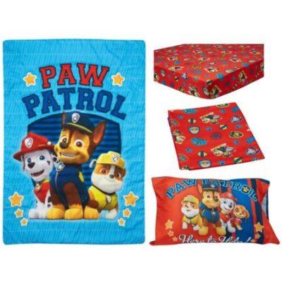 Walmart – BabyBoom Nick Jr PAW Patrol Here to Help 4-Piece Toddler Bedding Set Only $29.99 (Reg $36.97) + Free Store Pickup