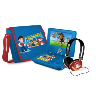 Walmart – Paw Patrol 7″ Portable DVD Player with Carrying Bag and Headphones, Blue Only $53.48 (Reg $59.99) + Free Shipping