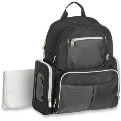 Walmart – Graco Gotham Collection Backpack Diaper Bag with Smart Organizer System, Black & Grey Only $25.99 (Reg $31.24) + Free Store Pickup