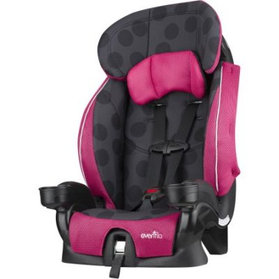 Walmart – Evenflo Advanced Chase Lx Harness Booster Seat, Dotty Flamingo Only $58.00 (Reg $64.97) + Free Shipping