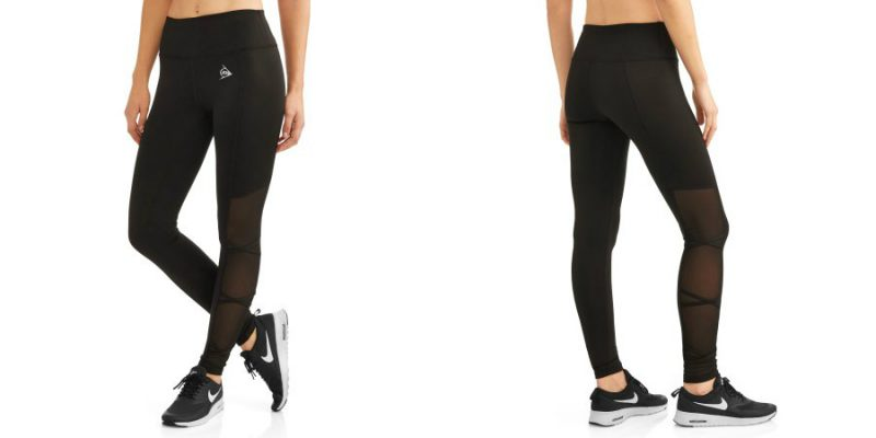 Walmart – Dunlop Women's Active Shredded Side Performance Legging Only $9.00 (Reg $14.96) + Free Store Pickup