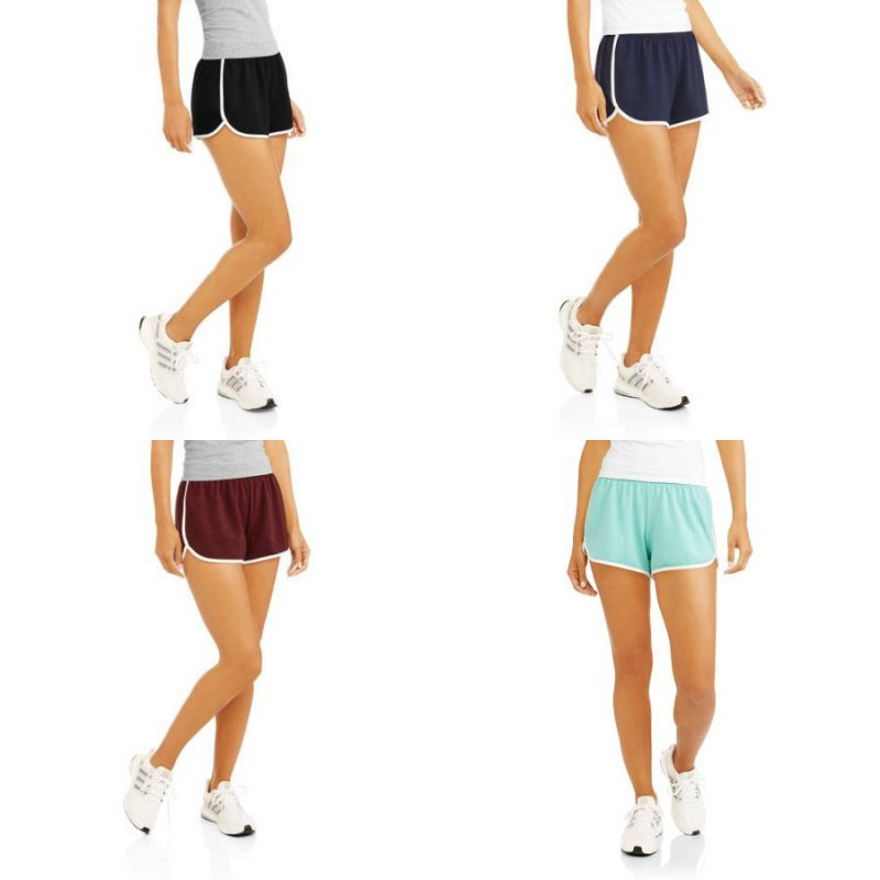 Walmart – Active Women's Dolphin Trim Lounge Short With Contrast Piping Only $5.00 (Reg $11.88) + Free Store Pickup