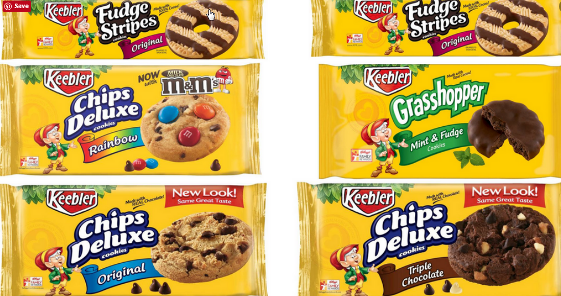 Printable Coupon – Save $1.00 on any TWO Keebler Chips Deluxe Cookies