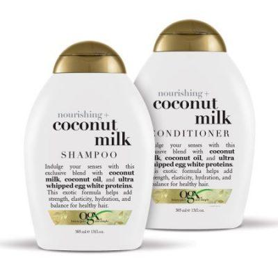 Walmart – OGX Nourishing + Coconut Milk Shampoo & Conditioner Set 13oz, 2 Ct Only $10.98 (Reg $15.98) + Free Store Pickup