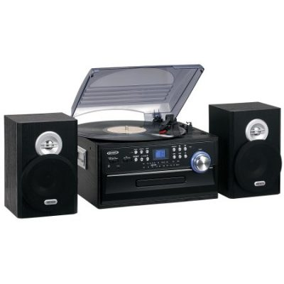 Walmart – Jensen JTA-475 3-Speed Turntable with CD, Cassette and AM/FM Stereo Radio Only $79.80 (Reg $103.80) + Free 2-Day Shipping