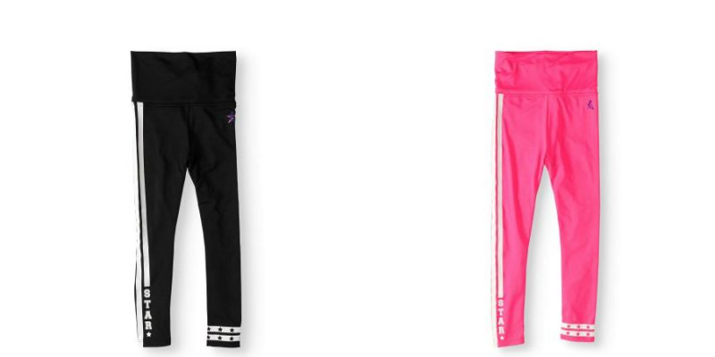 Walmart – Freestyle Revolution Girls' Active Leggings Only $7.00 (Reg $8.87) + Free Store Pickup