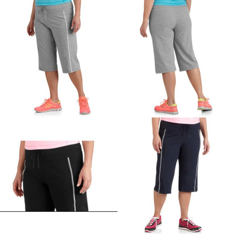 Walmart – Danskin Now Womens Plus Size Dri More Core Workout Bermuda Only $10.00 (Reg $12.96)  + Free Store Pickup