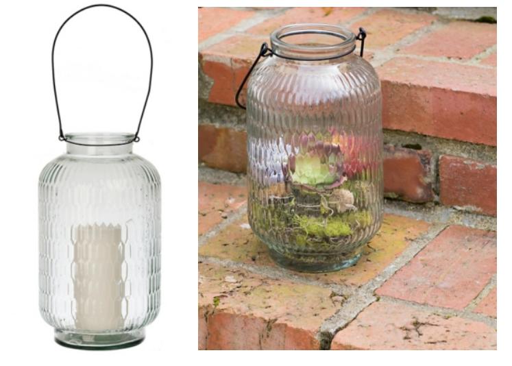 Kirkland Sale – Large Embossed Glass Lantern 14″ Just $10, Reg $24.99 + Lots More!