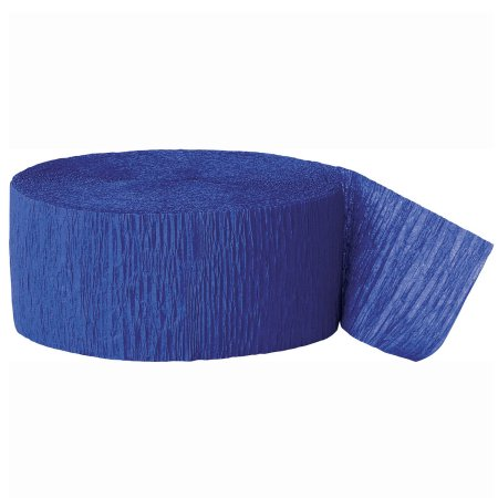Walmart – Crepe Paper Streamers, 81 ft, Royal Blue, 1ct Only $1.12 (Reg $2.21) + Free Store Pickup