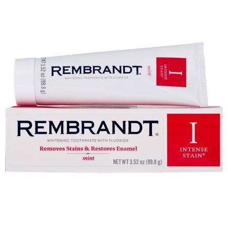 Walmart Rembrandt Intense Stain Whitening Toothpaste With