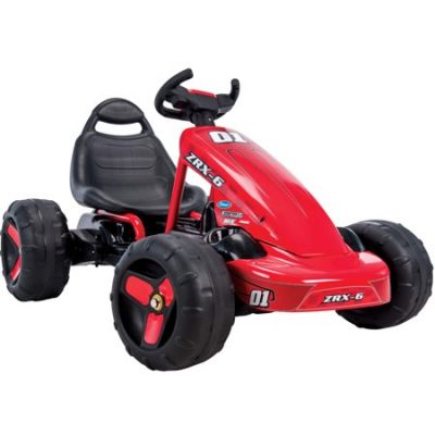 Walmart – Huffy ZRX-6 Battery-Powered 6V Electric 2 in 1 Pedal Go-Kart Ride-On, Red Only $84.00 (Reg $99.00) + Free Shipping
