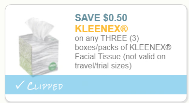 Kleenex Facial Tissue Only 77¢ Each At Winn Dixie With Printable Coupon – Print It Now!