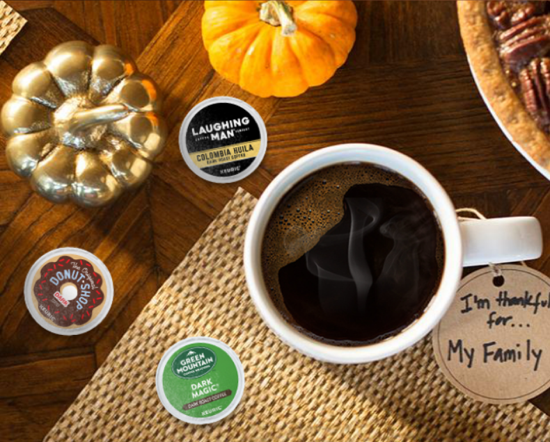 keurig.com – 20% off on PODS (Today Only) 11/19/18
