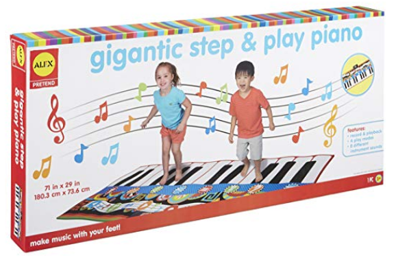 Amazon – Up to40% off Select ALEX Toys – Gigantic Step and Play Piano Only $22.77, Reg $79.99 + Free Shipping!