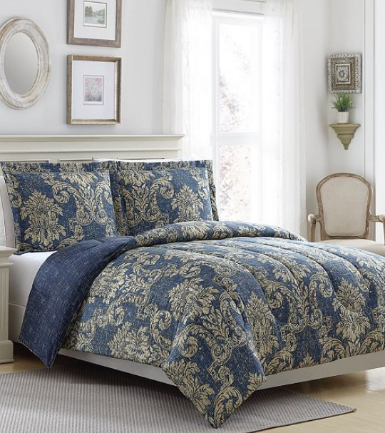 Macy's.com – (ALL SIZES) 3 Piece Comforter Sets Only $17.99 (Regularly $80)
