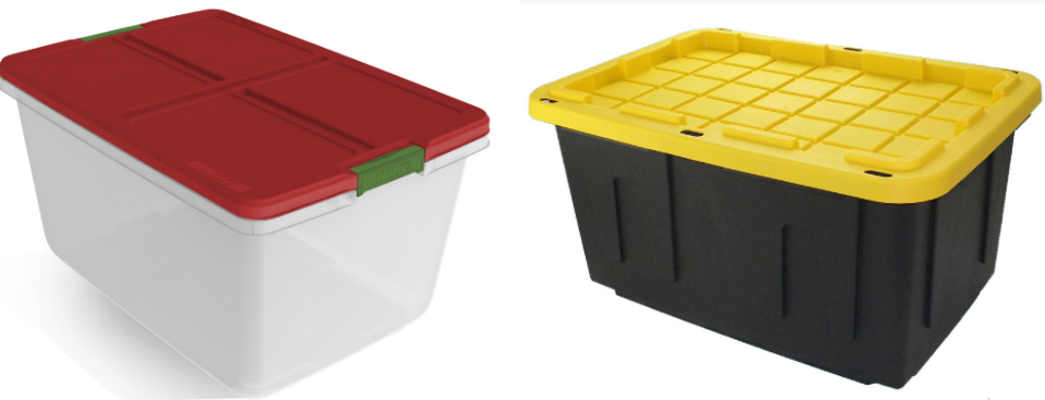 Lowes.com – Hefty 66-Quart Holiday Tote OR Commander 27-Gallon Tote With Lid Only $6.98, Reg $12 + Free Store Pickup!