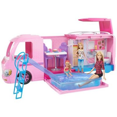 Walmart – Barbie DreamCamper Adventure Camping Playset for Ages 3Y+ Only $ 84.00 (Reg $94.00) + Free 2-Day Shipping
