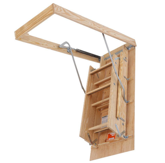 HomeDepot.com – Louisville Ladder Premium Series Wood Attic Ladder Only $88.70, Reg $104.00 + Free Shipping!