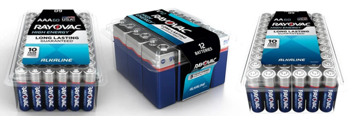 Lowes.com – Rayovac Batteries 60-Count Pack Only $12.97, Reg $22 + Free Shipping!