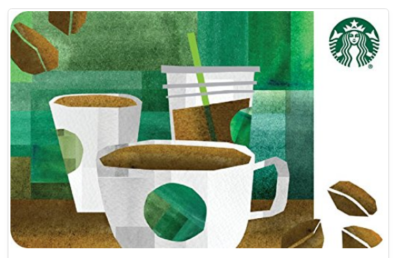 Purchase A $25 Starbucks eGift Card And Receive A Free $5 Amazon Credit