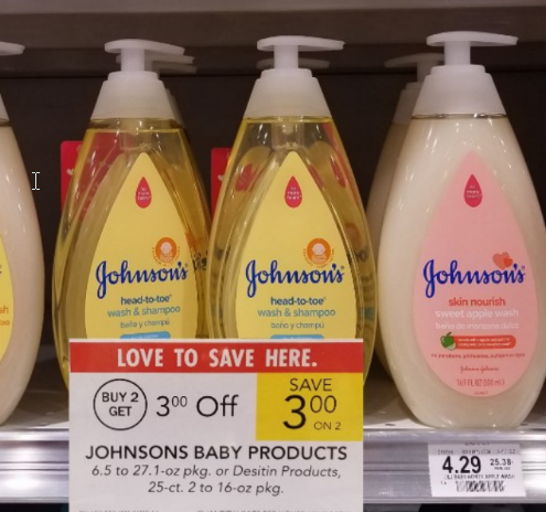 Publix – Johnson's Baby Shampoo Only $1.79, Reg $4.29 With Printable Coupon (Print It Now!)